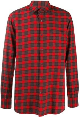 Aspesi plaid button shirt