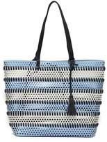 Urban Expressions Perforated Vegan Leather Tote