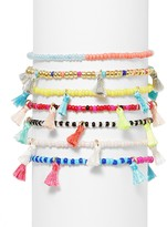 BaubleBar Cali Beaded Stretch Bracelets, Set of 7