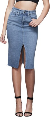 Good American Denim Pencil Skirt