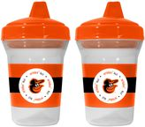 Baby Fanatic MLB Baltimore Orioles 2-Pack 5 oz. Sippy Cup