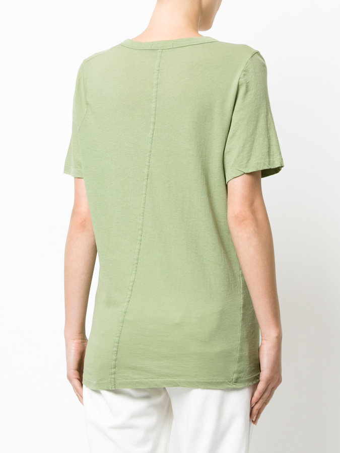 Bassike scoop neck T-shirt