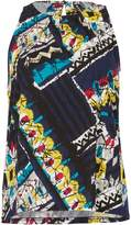 Izabel London Bold Print Sleeveless Top