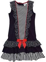 Rare Editions 7-16 Nautical Dress