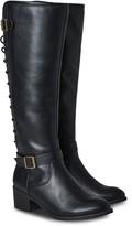 Joe Browns Autumn Walk Lace Back Boots - Black