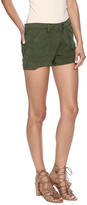 Articles of Society Army Green Denim Shorts