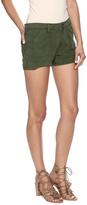 Articles of Society Army Green Denim Shorts