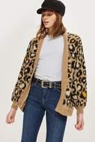 Topshop TALL Leopard Cardigan
