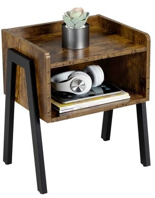 Williston Forge Tillie Tray Top End Table with Storage