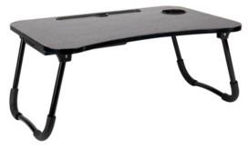 Mind Reader Foldable Bed Lap Desk with Storage Drawer