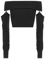 McQ by Alexander McQueen Cropped top