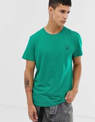 Cheap Monday tiny skull t-shirt-Green