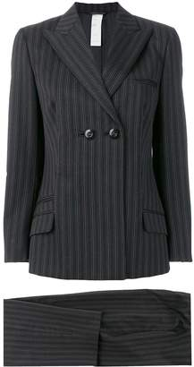 Versace Pre-Owned striped suit