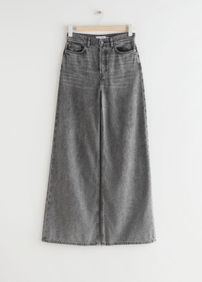 And other stories Wide High Waist Jeans