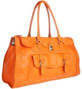 Jessica Simpson Madison Sold Large Satchel (Orange) - Bags and Luggage