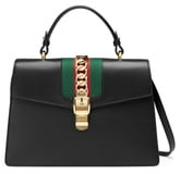 Gucci Top Handle Leather Shoulder Bag