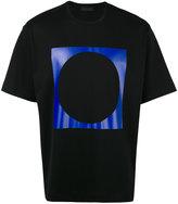 Diesel Black Gold square circle print T-shirt
