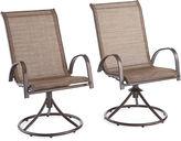 OUTDOOR OASIS Outdoor OasisTM Newberry Swivel Chair set of 2