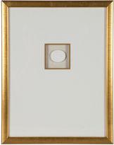 One Kings Lane Vintage Gold Leaf Framed Intaglio