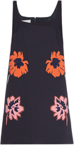 Stella McCartney Melissa flower-appliqué mini dress