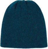 The Elder Statesman Men's Rib-Knit Cashmere Beanie-TURQUOISE