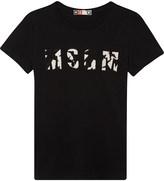MSGM Star logo cotton t-shirt 4-14 years