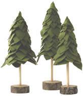 Set of 3 Felt Trees