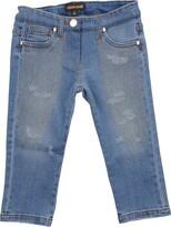 Roberto Cavalli Denim pants - Item 42585472