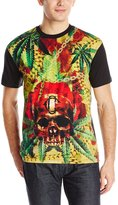 Crooks & Castles Men's Knit Crew T-Shirt Headhunter