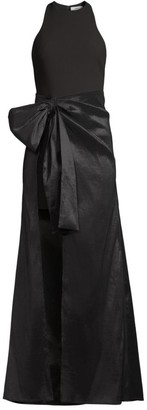 LIKELY Mena Bow High-Low Gown