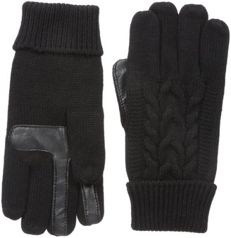 Isotoner Women's smarTouch Cable Knit Glove
