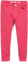 U.S. Polo Assn. Maroon Denim Pants - Girls