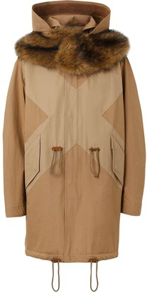Burberry hooded parka