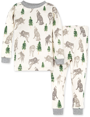 Burt's Bees Alpha Dog Organic Baby Snug Fit Pajamas