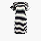 J.Crew Short-sleeve striped cotton dress