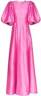 Rasario Pouf Sleeve Gown