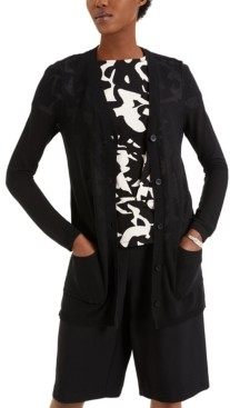 Alfani Button-Front Cardigan, Created for Macy's