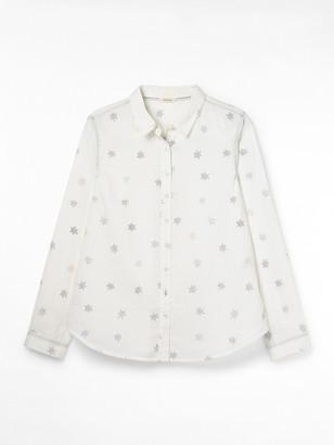 White Stuff Brightside Organic Cotton Shirt