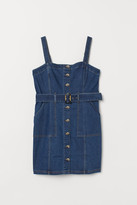 H&M H&M+ Dungaree dress