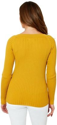 Joe Browns Chunky Knit Jumper - Mustard