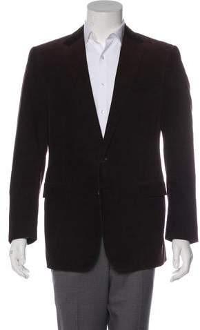 3a2e31cef7a0 Black Corduroy Mens Blazer - ShopStyle