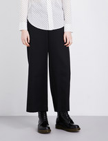Y's YS Buckle-detailed high-rise wool trousers