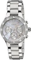 DKNY Women's Chronograph NY8507 Stainless-Steel Analog Quartz Watch