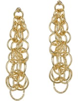 Jardin Cluster Interlocking Italian Inspired Ring Earrings.