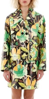 Fendi Floral Print Jacket