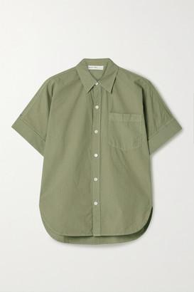 Alex Mill Charlie Cotton-poplin Shirt - Army green
