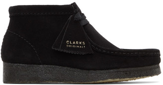 Clarks Black Wallabee Boots
