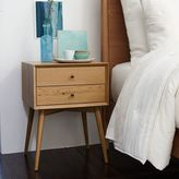 west elm Mid-Century Nightstand - Natural Oak