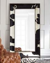 Interlude Home Orlana Hairhide Floor Mirror