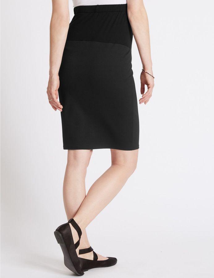 Marks and Spencer Textured Maternity Skirt
